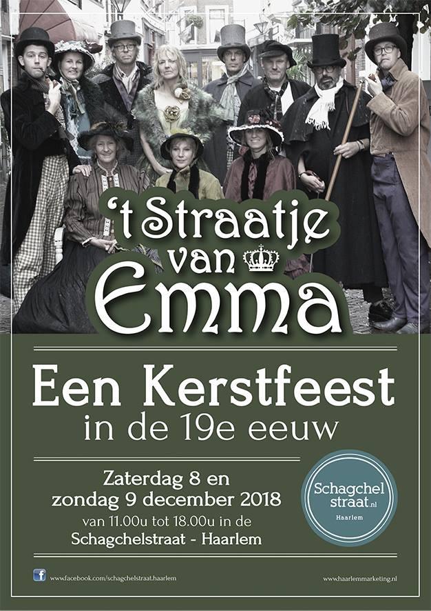 8 en 9 december: 't Straatje van Emma tijdens Kerstmarkt Haarlem