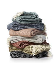 Klippan plaid wol Stella in diverse kleuren