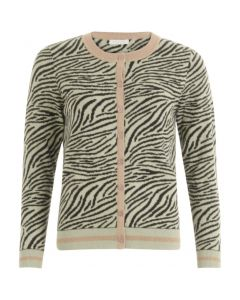 Gebreid vest in zebraprint van Coster Copenhagen