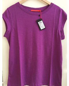 Basic T-shirt in Ultra Lilac van Coster Copenhagen