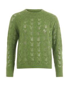 Gebreide trui groen van Coster Copenhagen