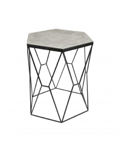 Bijzettafel Day Home Accent Table beton en metaal