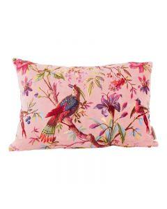 Kussen Paradise print in roze van Imbarro