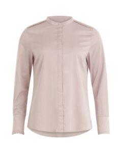 Vrouwelijke blouse met geplooid accent van Coster Copenhagen