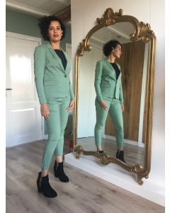 Blazer in kleur Crystal Green van Coster Copenhagen