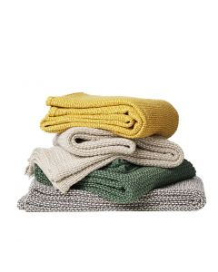 Klippan deken organic cotton Basket