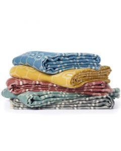 Katoenen deken Doris van Klippan