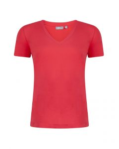 T-shirt Alex van Miss Green in coral red