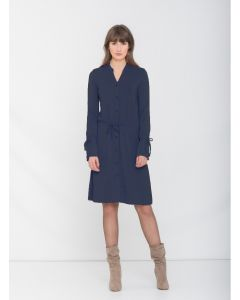 Jurk Jurgita in navy van Miss Green