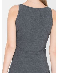 Tanktop Selena in grey melee van Miss Green
