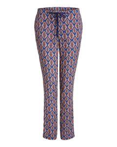 Zomerse broek met opvallende print van OUI
