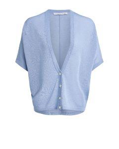 Vest met korte mouw blauw van OUI