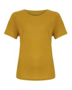 T-shirt met korte mouw Gold Spice in Tencel van Coster Copenhagen