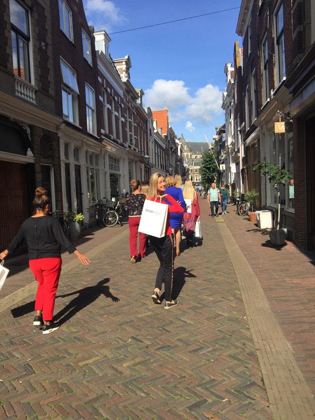 Modeshow Schagchelstraat Haarlem oktober 2018
